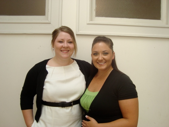 Pro and I before the wedding