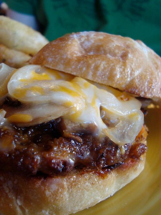 Veggie Teriyaki Burger