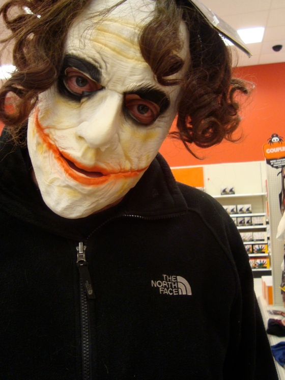 creepy Joker. Why so serious?