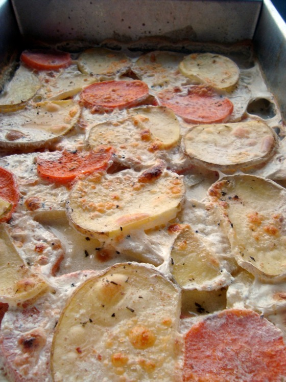 gratin cooked