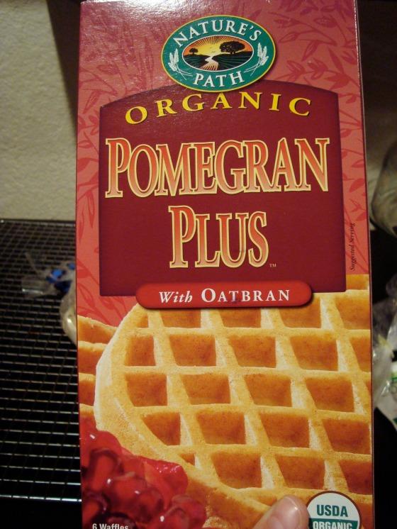 pomegran wafles