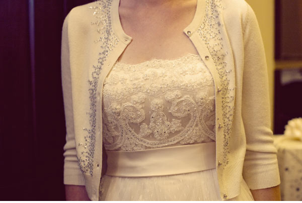 bridal cardigan | The Family Chapters