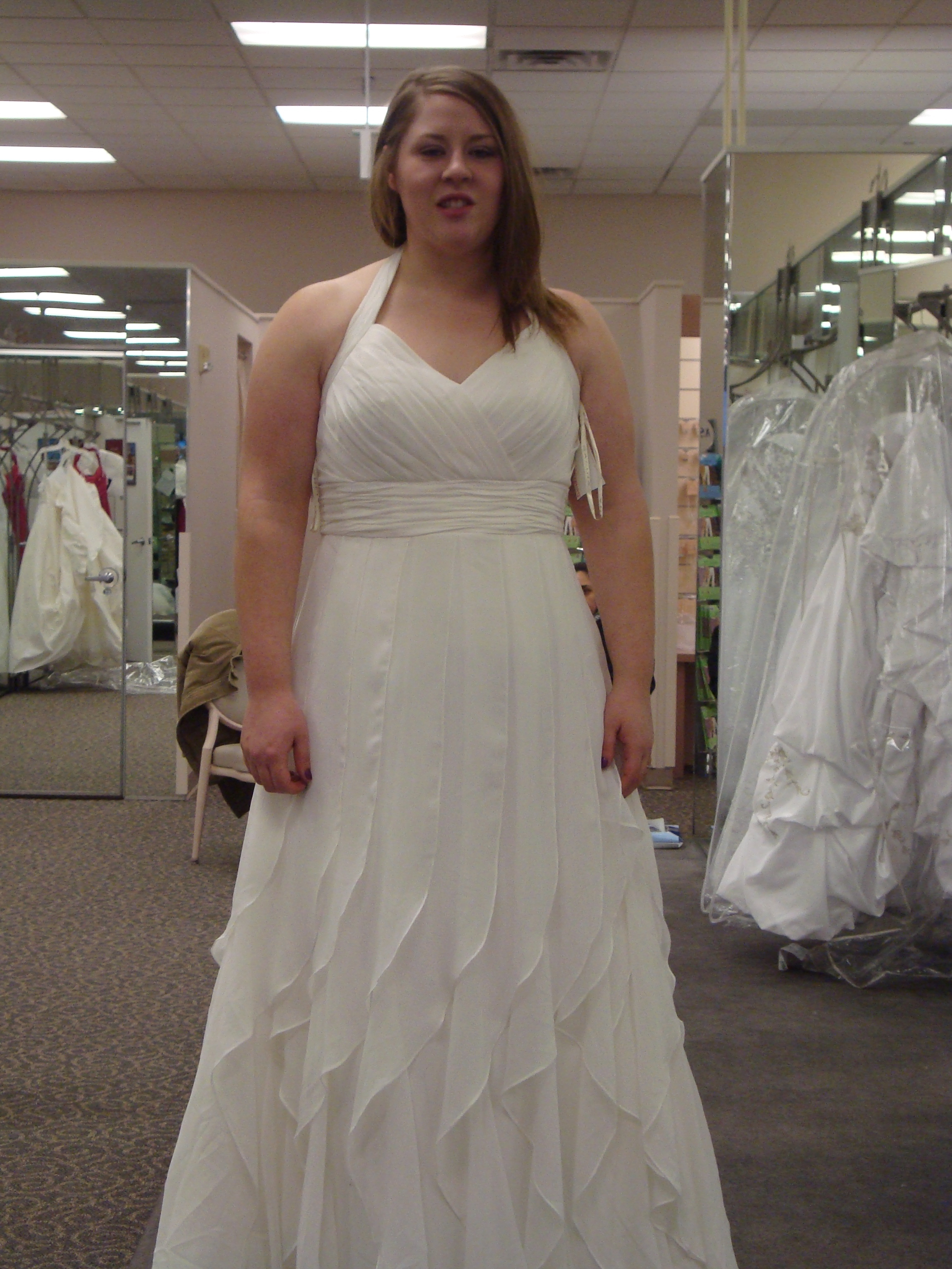 Me in a wedding dress the family chapters for Best wedding dresses for short fat brides