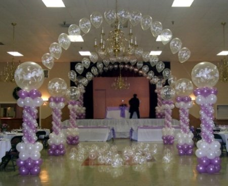 Wedding decor the family chapters for Arch decoration supplies