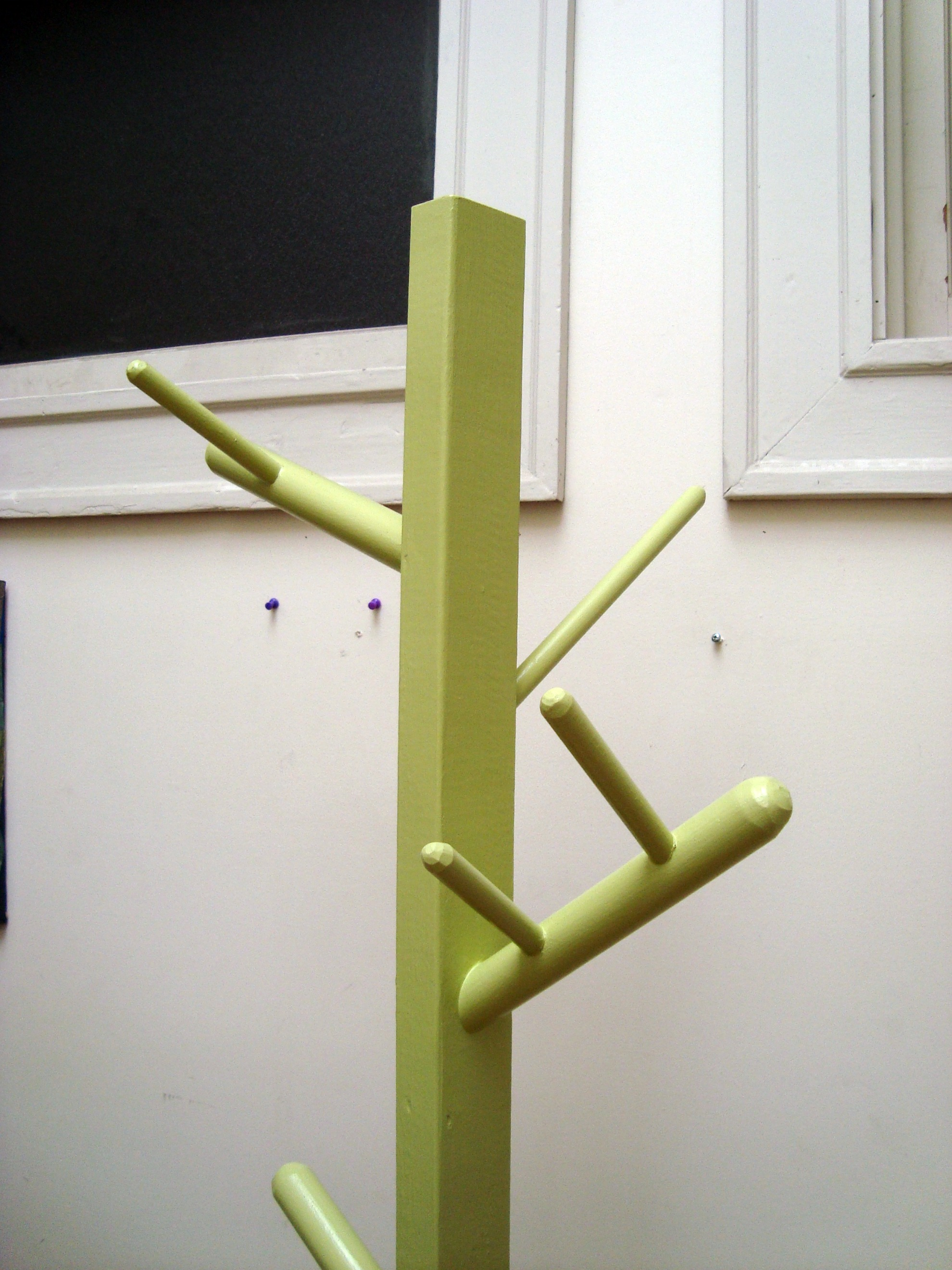 Coat Rack 2. Full resolution‎  snapshot, nominally Width 1980 Height 2640 pixels, snapshot with #5B4A1E.