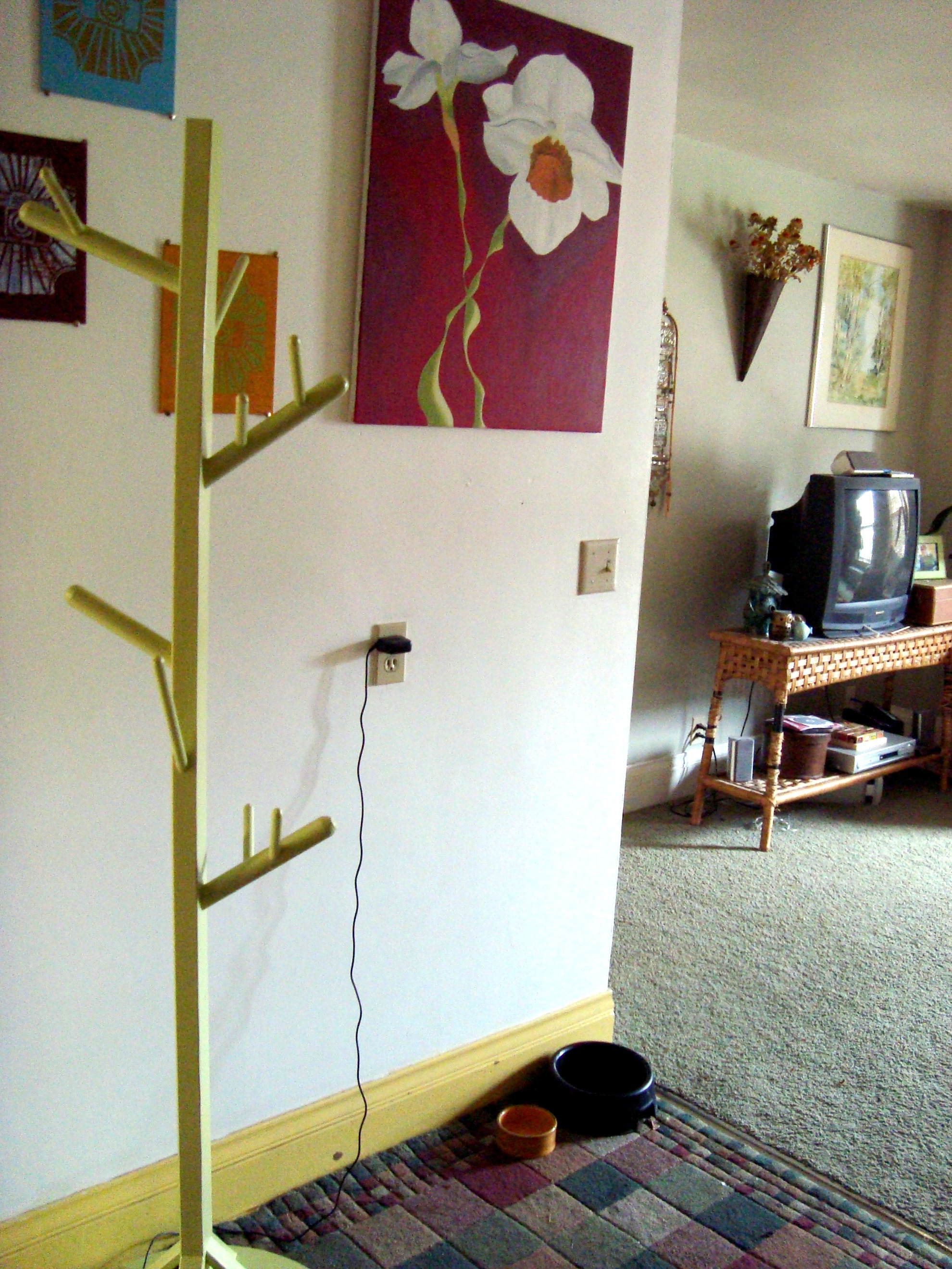 DIY Coat Rack   The Family Chapters