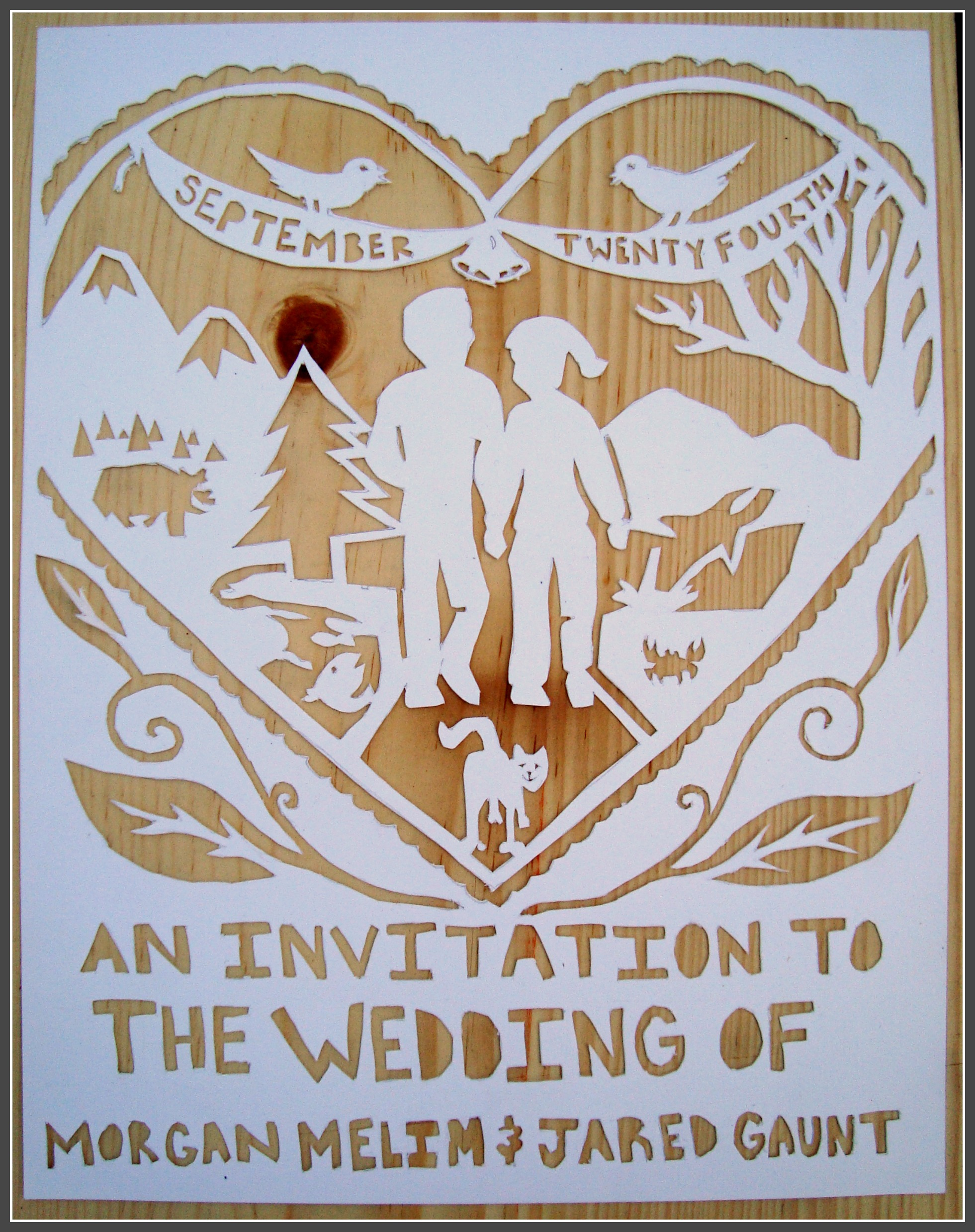 wedding invitations the family chapters