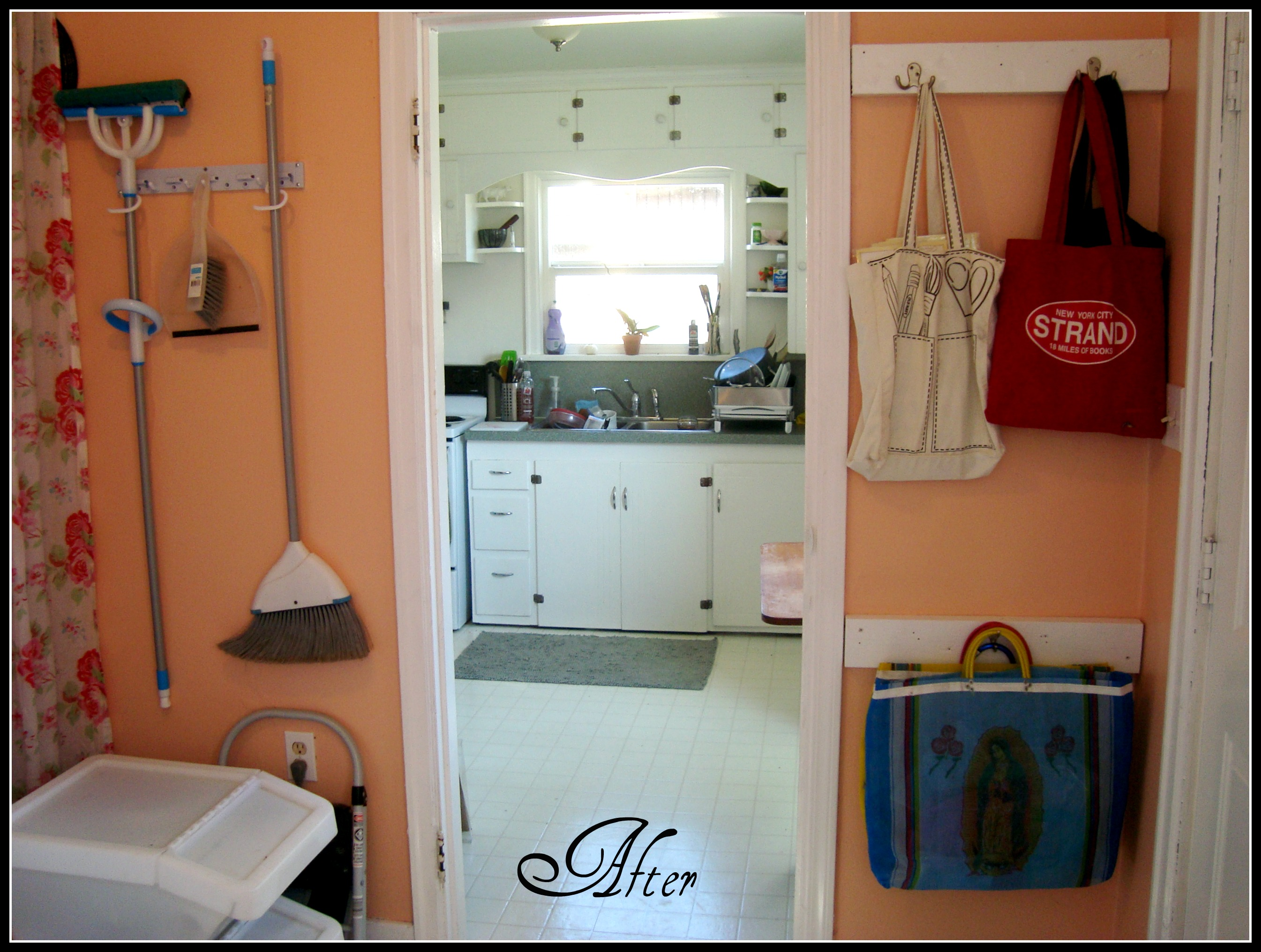 Peach Kitchen The Laundry Room Pretty In Peach The Family Chapters