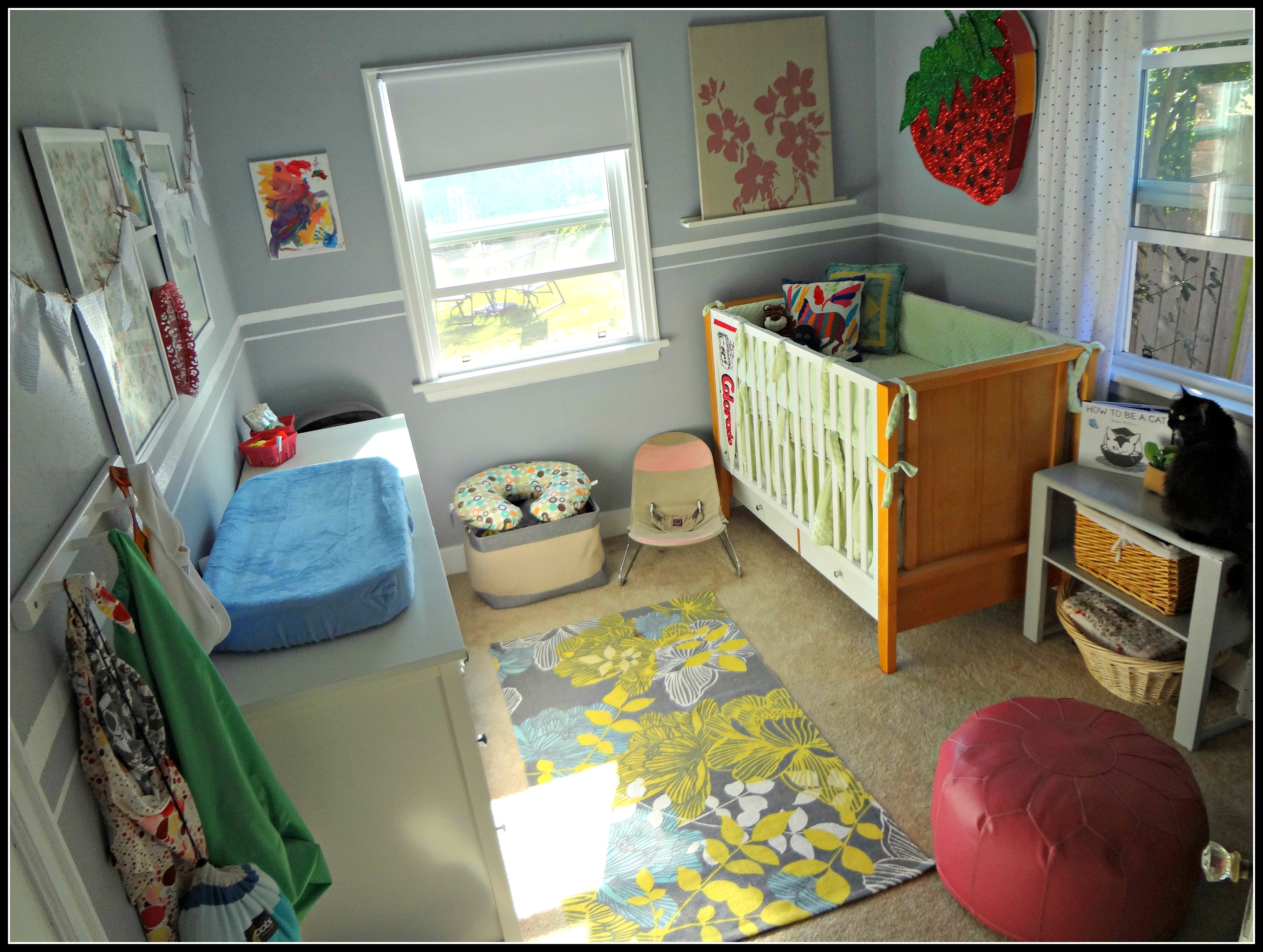 The Room Is Quite Tiny. Maybe 8u0027x10u2032? It Will Work Well For A Baby, But  This Whole House Makes Me Nervous For A Toddler! Ugh Where Will All Her  Stuff Go?