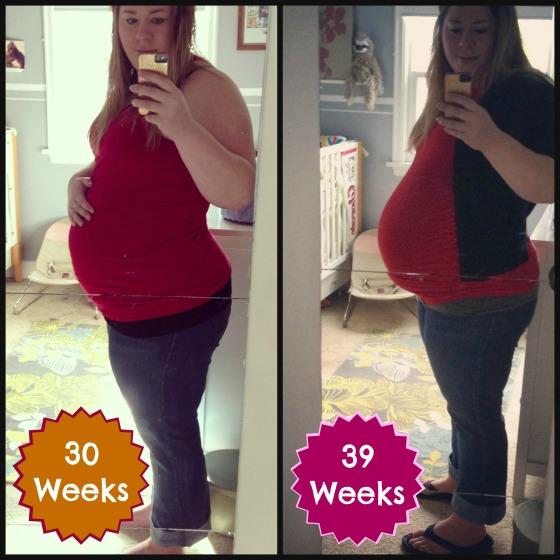 pregnant comparison