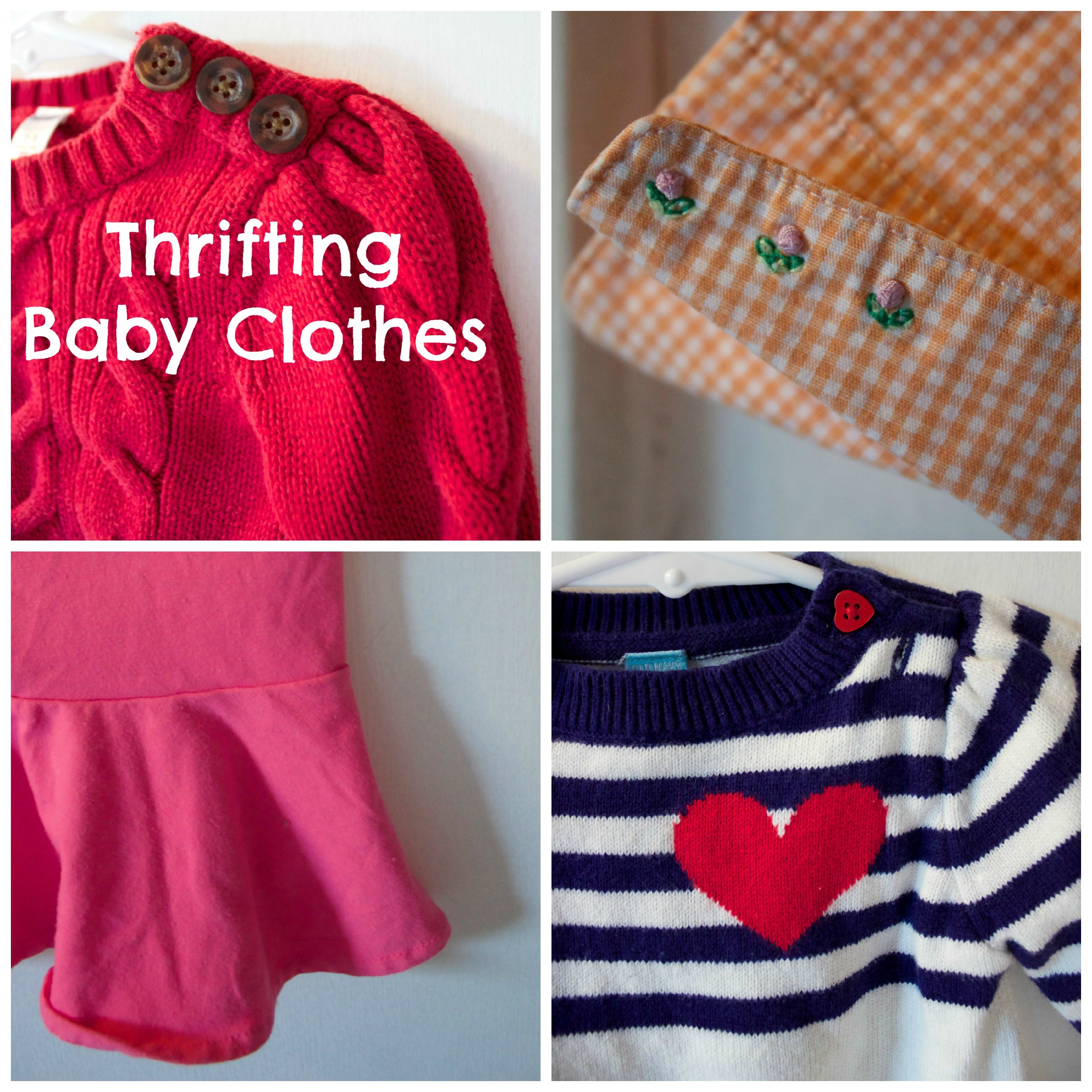 Raising Vada Thrifting Baby Clothes